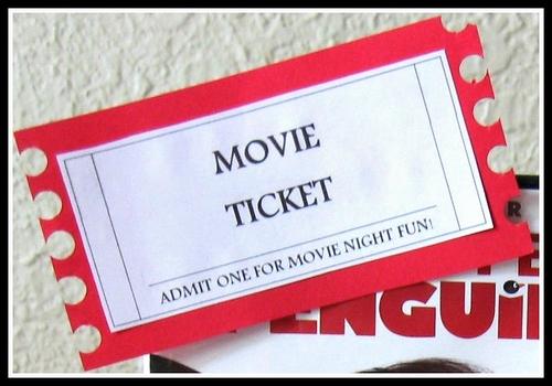 printable movie ticket - Josemulinohouse