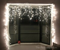 Our Frugal Christmas Decor - The Peaceful Mom