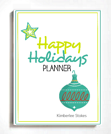Stress Free Holidays Planner Printables - The Peaceful Mom