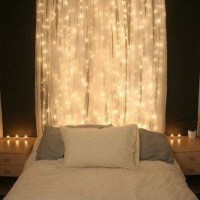 DIY Home Decor Ideas Using Christmas Lights