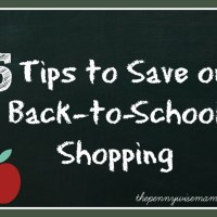 5 Tips to Save on Back-to-School Shopping + $50 Gift Card Giveaway