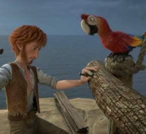 Robinson Crusoe - Macaws