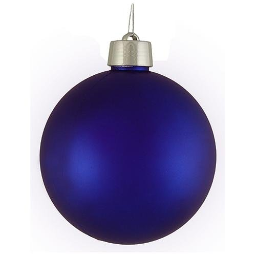 Blue christmas ornament personalized christmas ornament with 1 letter