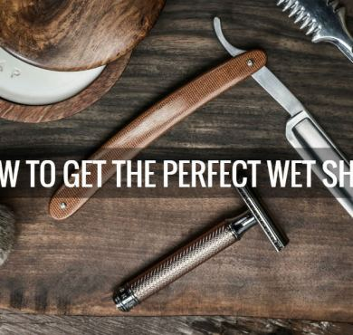 Hot to get the perfect wet shave