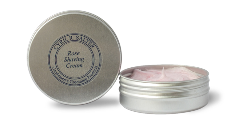 Cyril R. Salter Wild Rose Shaving Cream