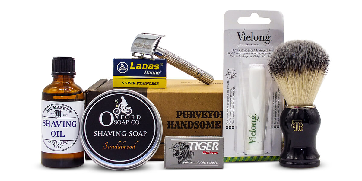 The Personal Barber shaving subscription box AprilMay20