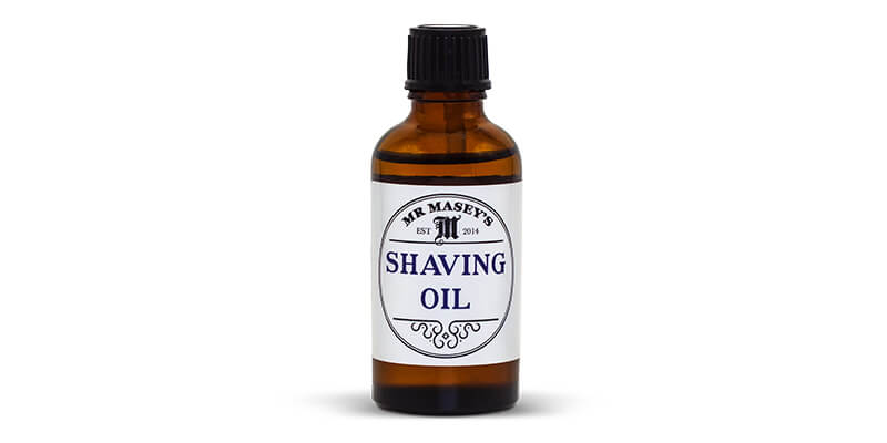 Shaving Oil MR Maseys subscription feature the personal barber