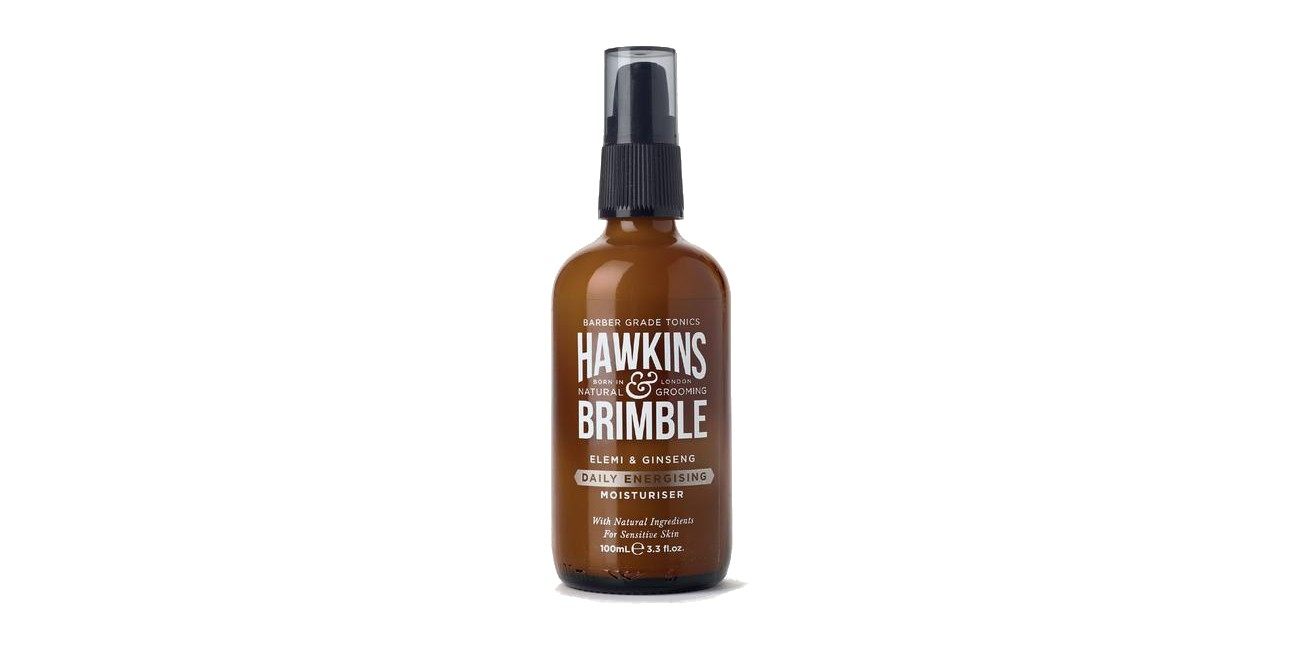 elemi and ginseng moisturiser hawkins and brimble