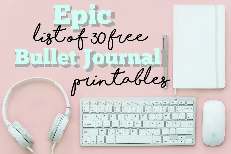 27 Useful Bullet Journal Printables You\u0027ll Want to Download Now - Free Fitness Journal Printable
