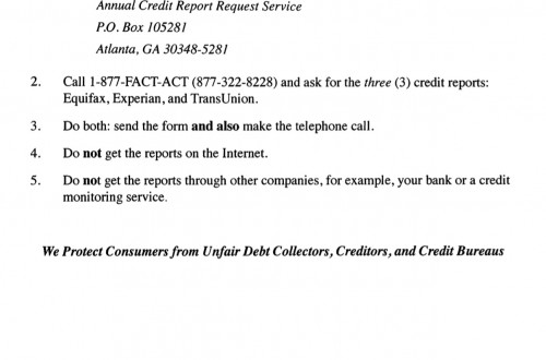 How to obtain a credit report Archives - Philadelphia Bankruptcy - annual credit report form