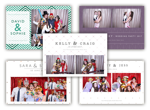 Photo Booth Templates For Sale The Photopod Company - po booth template