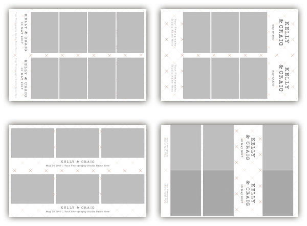 Checkered photo booth templates collection - The Photopod Company - po booth template