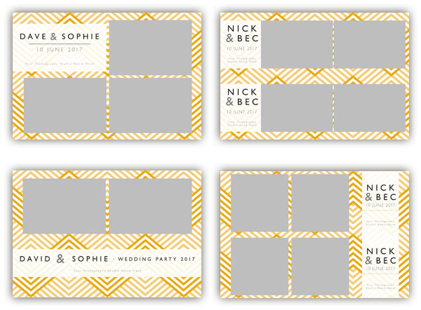 ZigZag photo booth template collection - The Photopod Company