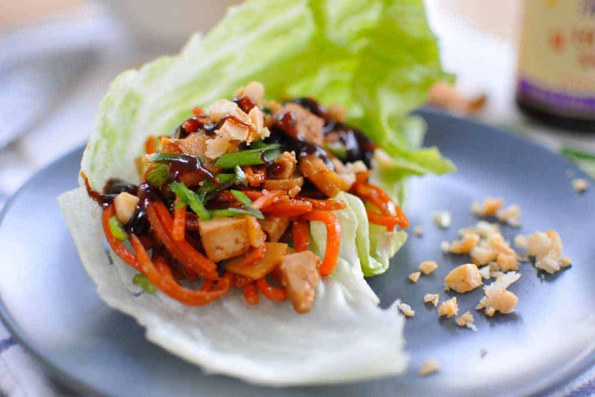 Wraps Vegan Asian Tofu Lettuce Wraps Vegan And Gf The Pig And Quill