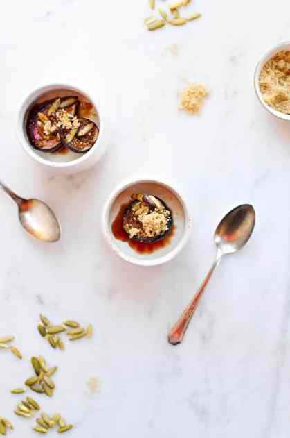 spinach and garlic spinach and garlic panna cotta recipes dishmaps ...