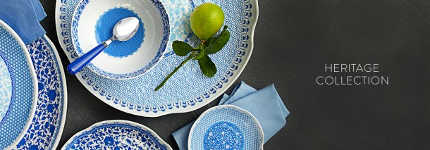 Q Squared NYC Heritage Collection - love these melamine dishes! // the pig & quill