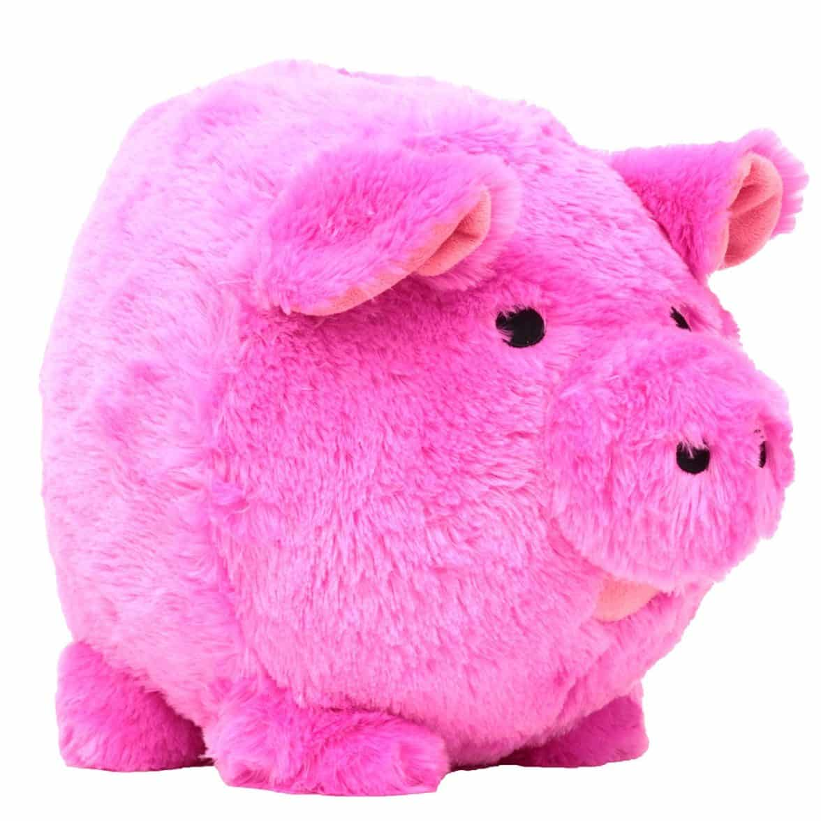 Pink Plastic Piggy Banks Buy Jumbo Pink Plush Piggy Bank The Piggy Store