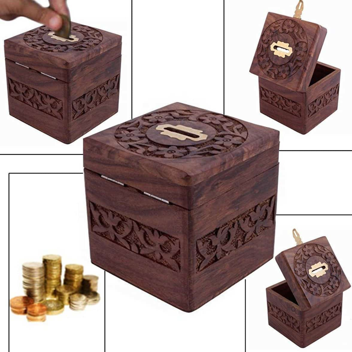 Buy Money Box Buy Thanks Giving Gift For Loved Ones Unique Gift Items