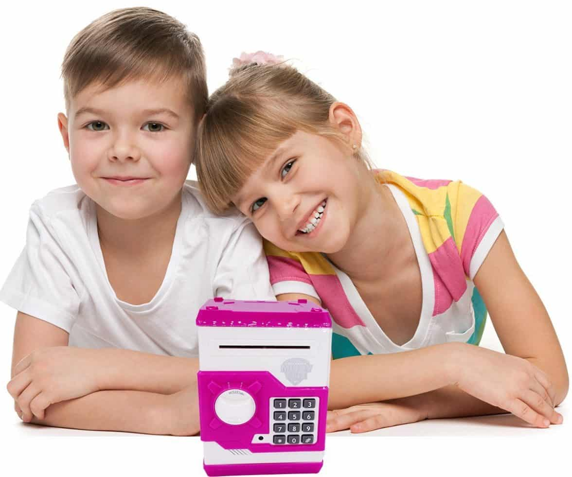 Money Bank For Kids Buy Updated Code Electronic Piggy Banks Mini Atm