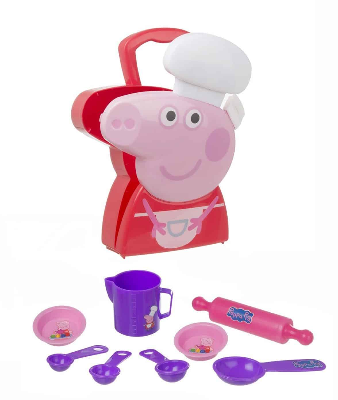 Cuisine Peppa Pig Buy Peppa Pig Child 39s Chef Cooking Case For Kids The