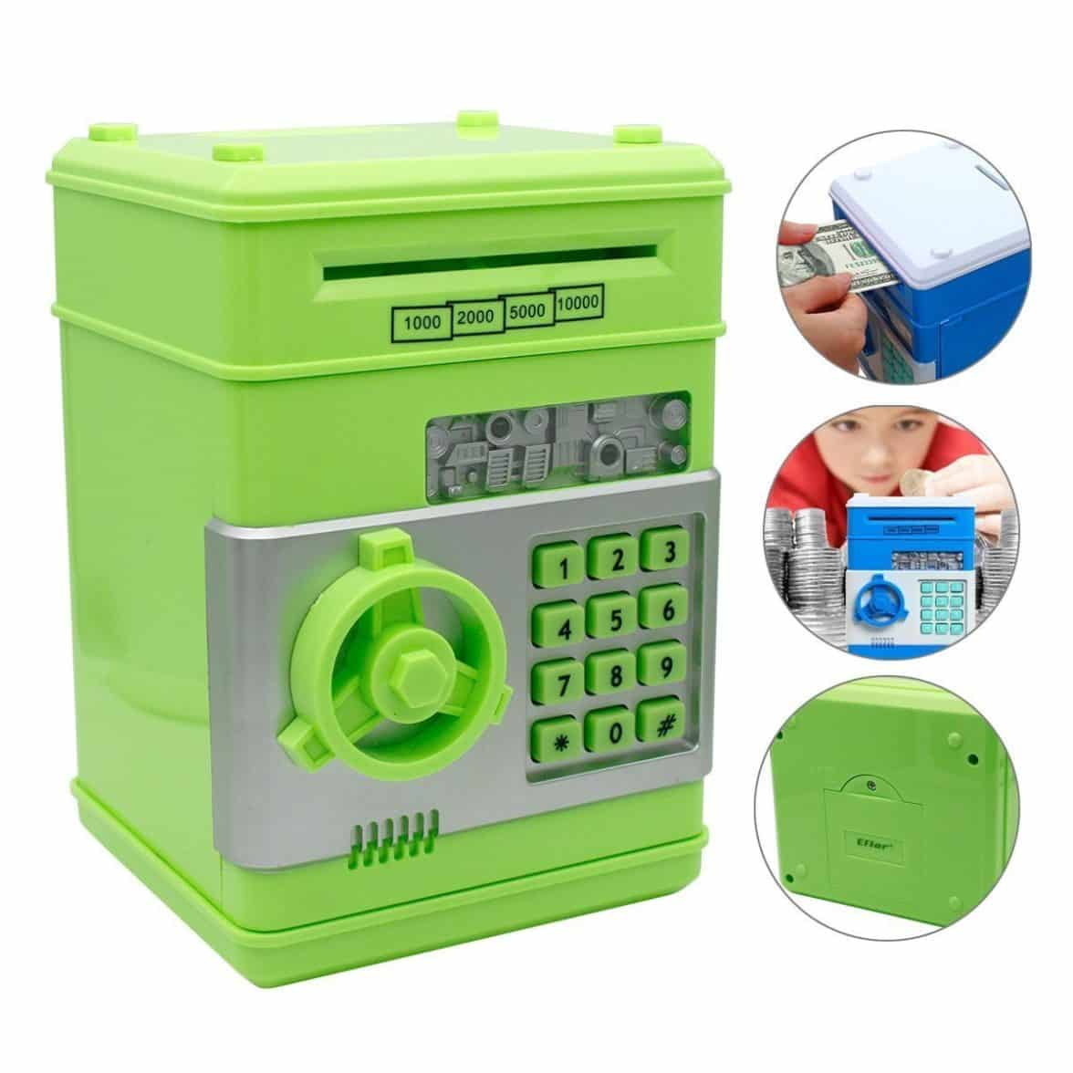Coin Piggy Bank Toy Shine Toys New Style Electronic Money Saving Box Cash Coin