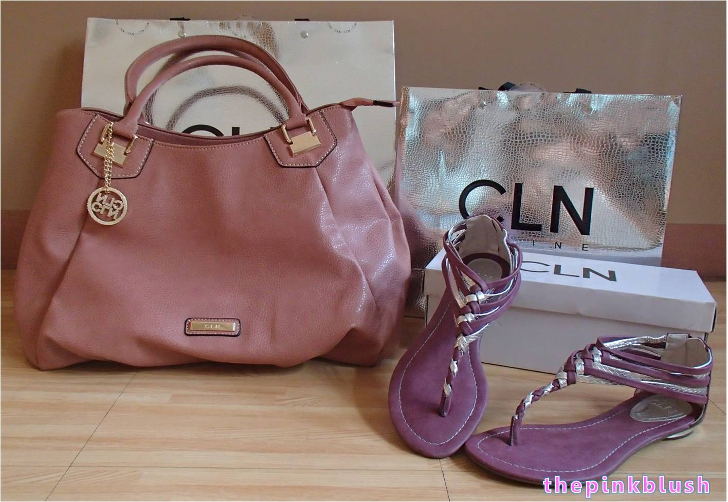 Cln bag and sandals2