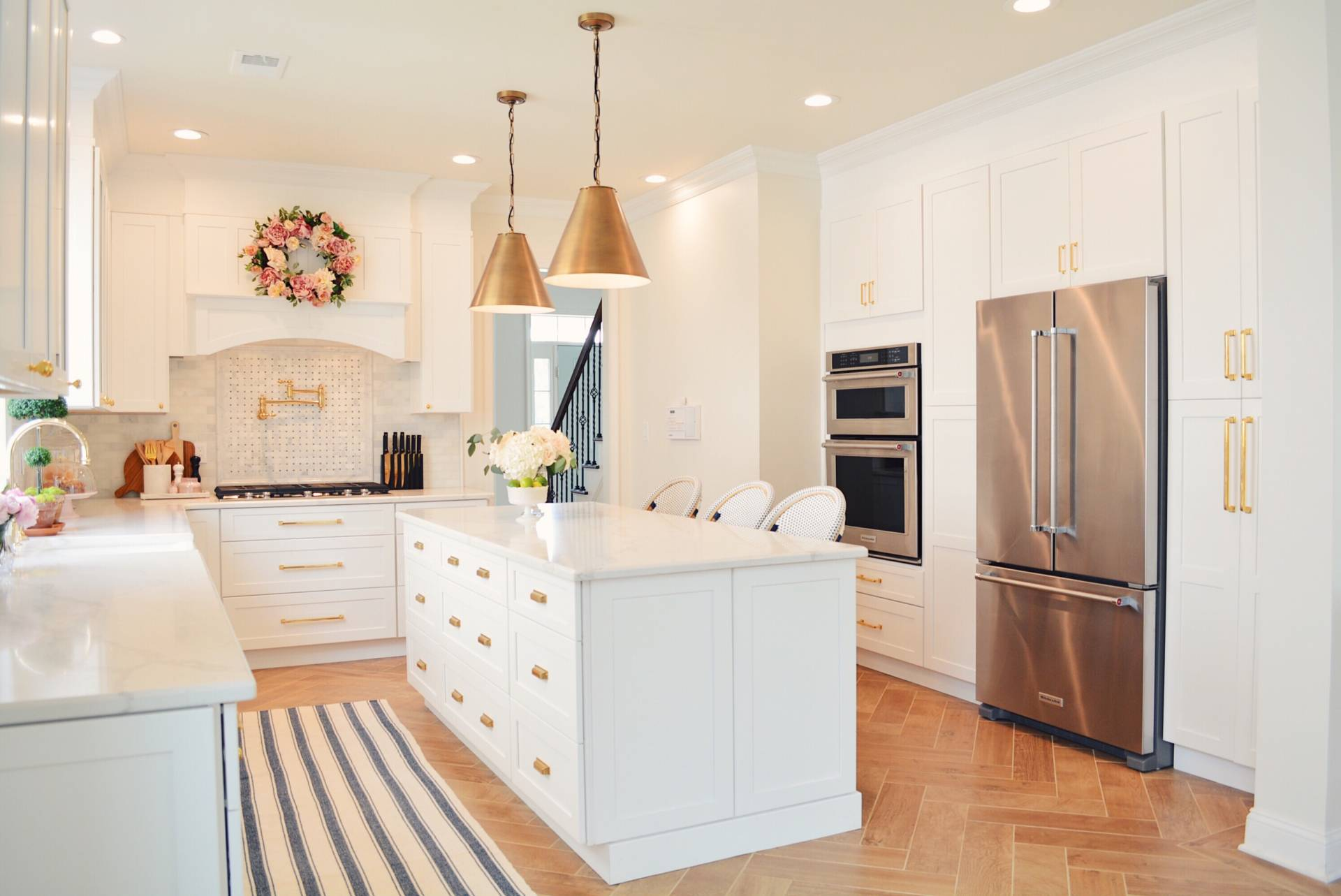 Classic Kitchen Lighting How To Update Kitchen Lighting On A Budget The Leslie Style