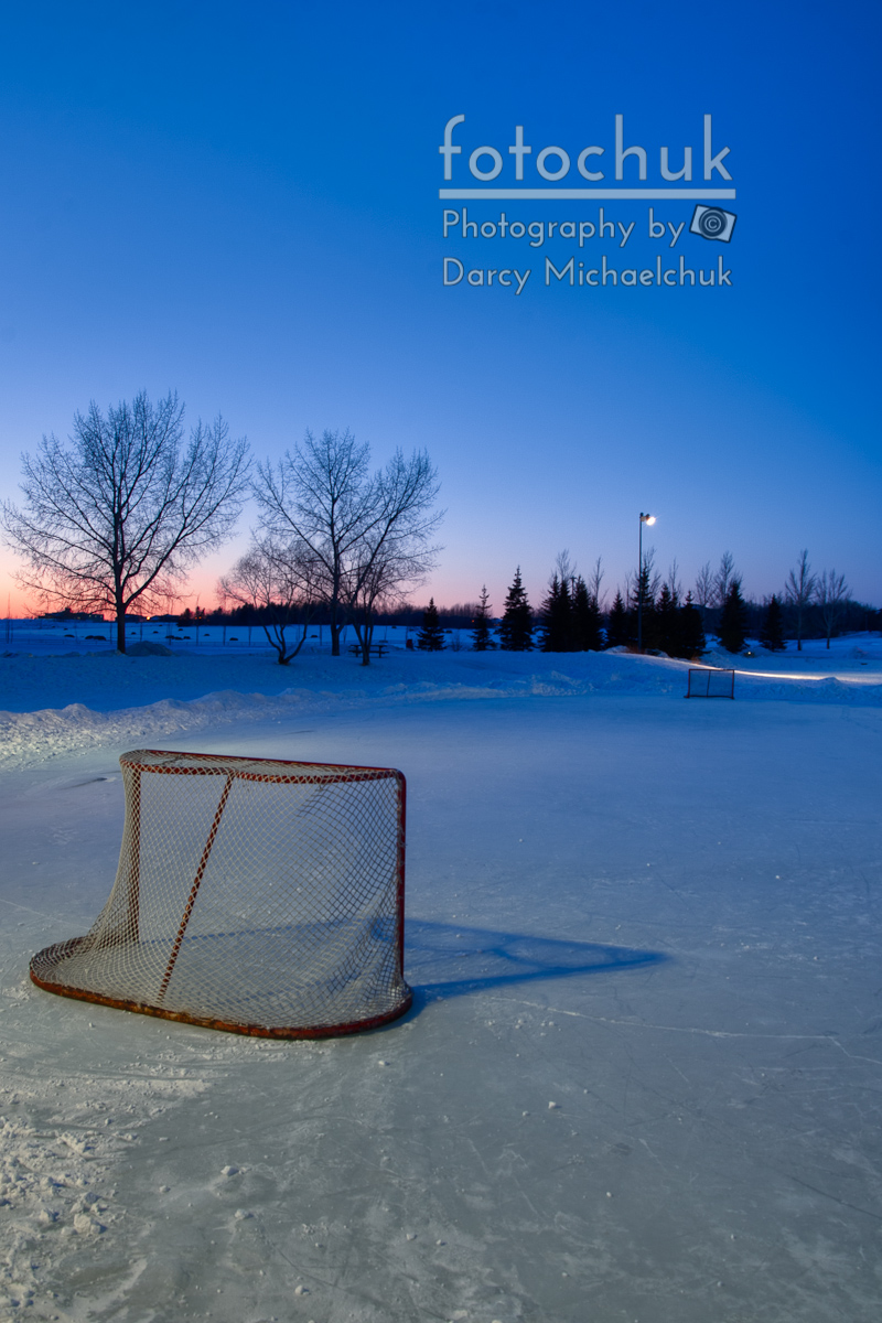 St Louis Blues Iphone Wallpaper Sunset With Vacant Pond Hockey Rink The Pink Puck