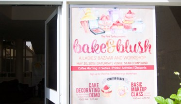 Bake and Blush Fair 2015