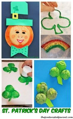 ST. Patricks Day crafts for kids