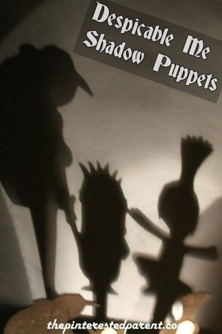 Despicable Me Shadow Puppets