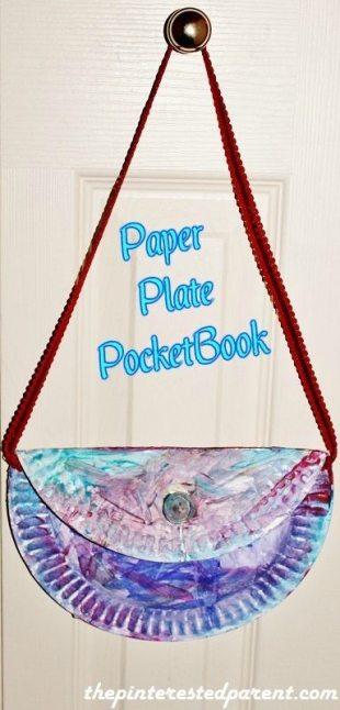 Paper Plate Pocketbook