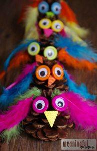 owl-pinecone-craft-kids