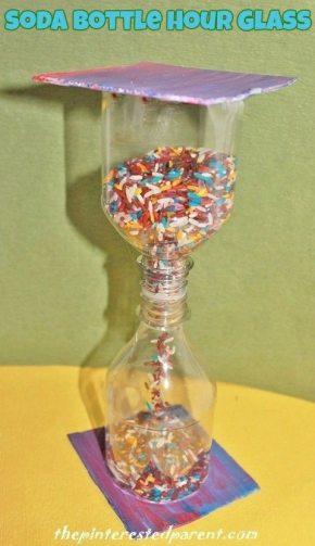 Soda Bottle Hour Glass