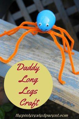 Daddy Long Legs Craft