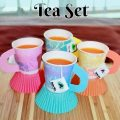 Dixie Cup Tea Set