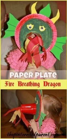 Paper-Plate-Fire-Breathing-Dragon-Mask-145x300
