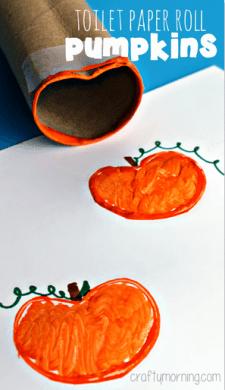 toilet-paper-roll-pumpkin-stamp-halloween-craft