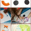 A great activity to inspire your little artists - Shape Inspiration drawings - imagination art