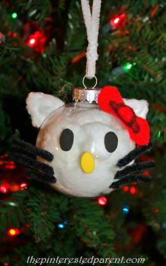 Hello Kitty Ornament for Christmas