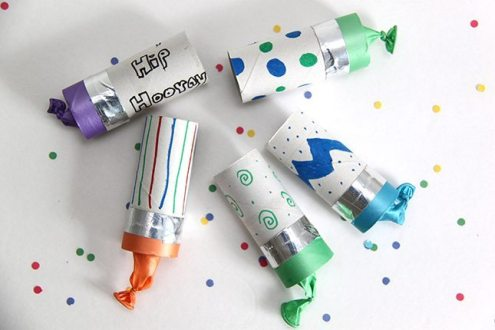 Toilet Paper Tube Confetti Poppers from Smashed Peas & Carrots