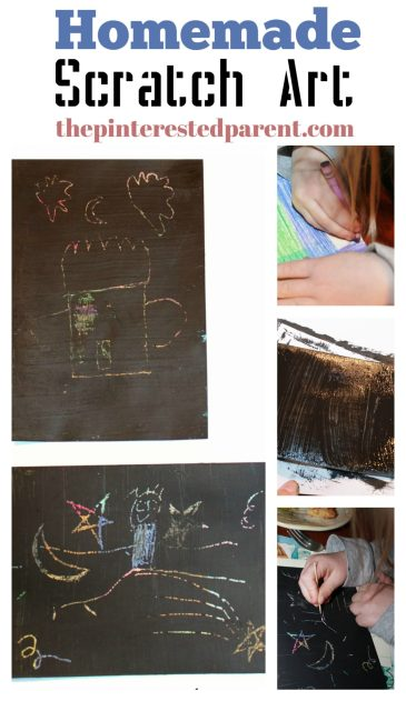 DIY scratch art cards for kids or adults. This craft was Inspired by Go To Sleep Little Farm.,