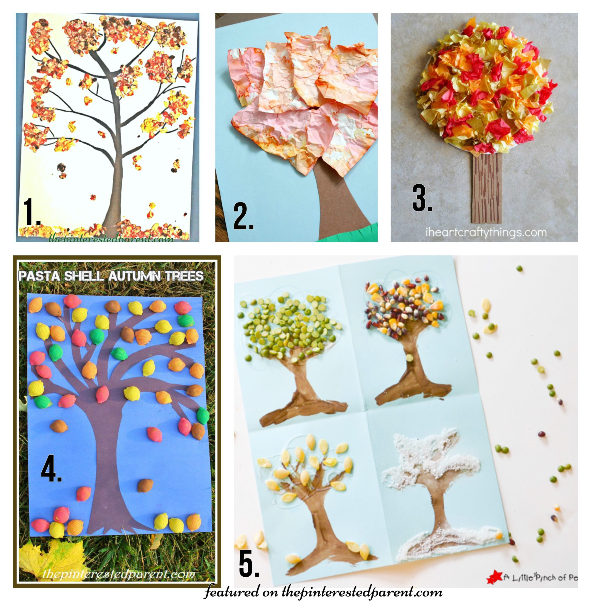 Art And Craft For Preschool 20 Fall Tree Arts Crafts Ideas For Kids The Pinterested Parent