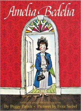 Amelia Bedelia by Peggy Parish - funny books for preschoolers
