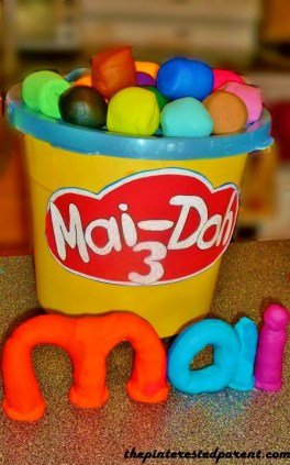 Playdoh birthday party ideas