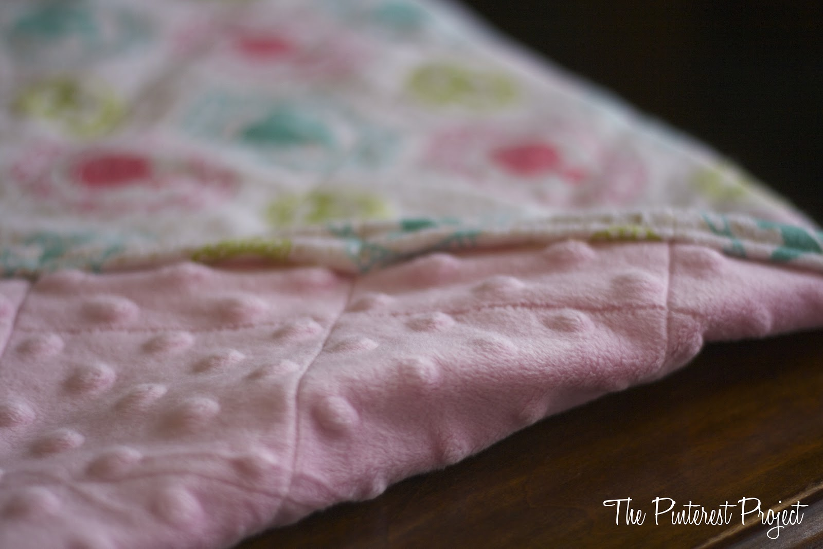 How To Make A Baby Blanket An Easy Baby Or Doll Blanket The Pinterest Project