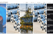 Website design for D10 Industries