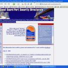 Coast Guard Port Security Directorate Website