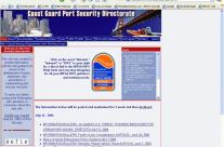 Coast Guard Port Security Directorate Website