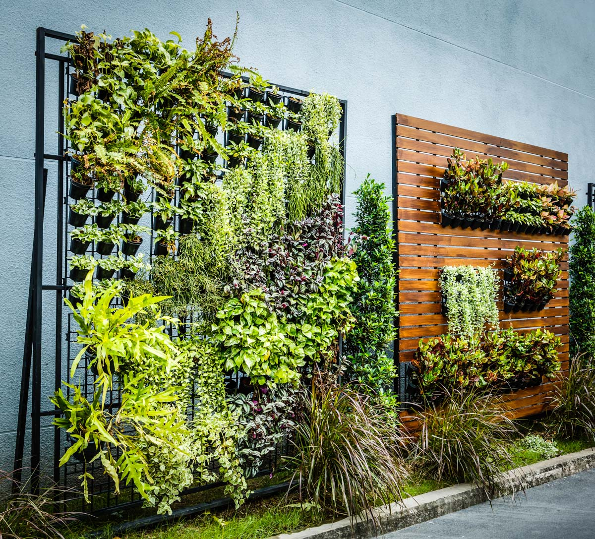 Vertikal Gardinen Vertical Gardens Are The Key To Self Sufficiency In The City